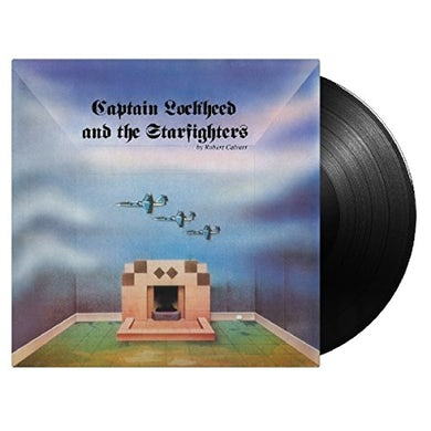 Robert Calvert CAPTAIN LOCKHEED & THE STAR FIGHTERS Vinyl Record