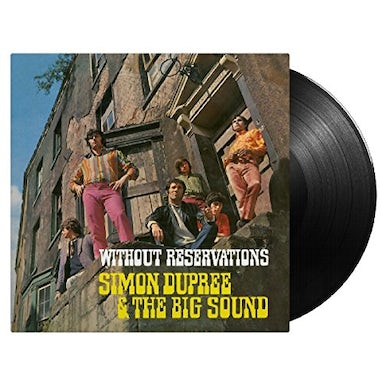 Simon Dupree & The Big Sound WITHOUT RESERVATIONS Vinyl Record