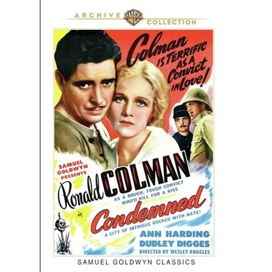 CONDEMNED (1929) DVD