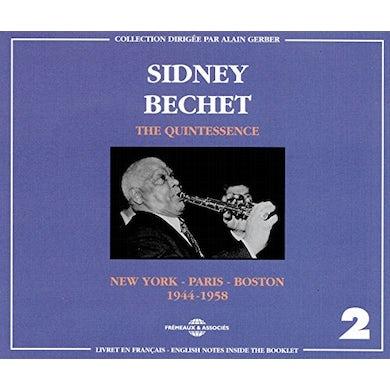 Sidney Bechet QUINTESSENCE 2 CD