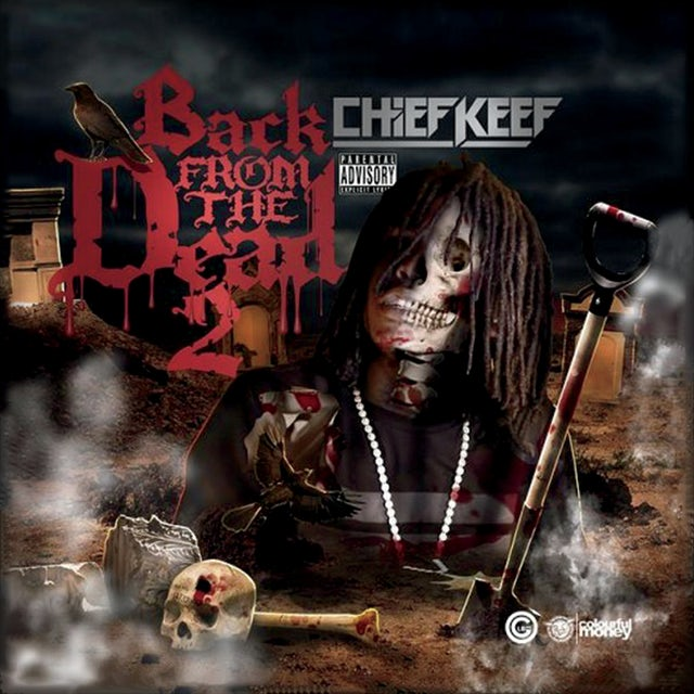 Chief Keef BACK FROM THE DEAD 2 CD