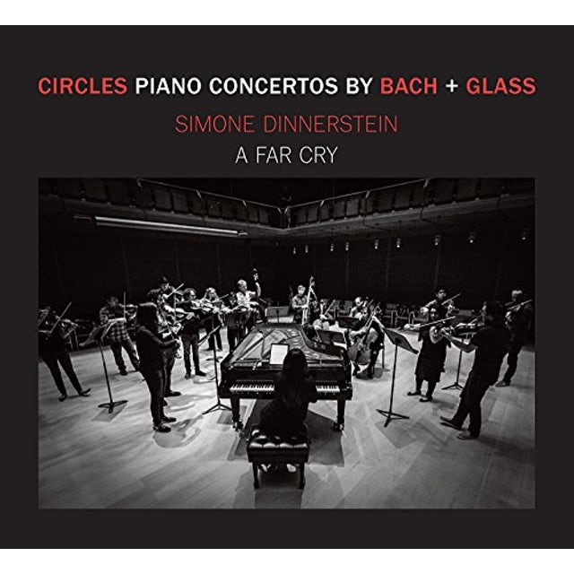 Simone Dinnerstein CIRCLES - PIANO CONCERTOS BY GLASS + BACH CD