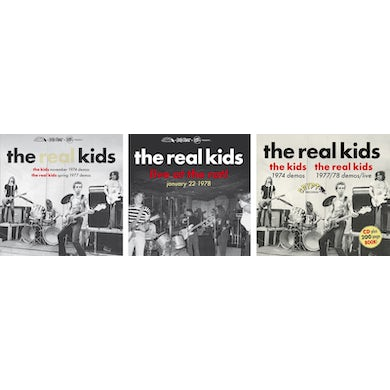 KIDS NOVEMBER 1974 DEMOS / REAL KIDS 1977 DEMOS Vinyl Record