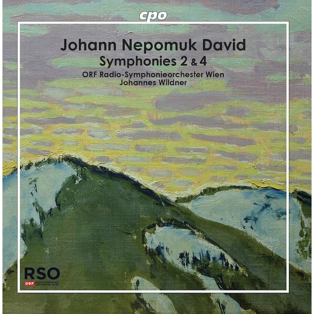 David SYMPHONIES 2 & 4 CD