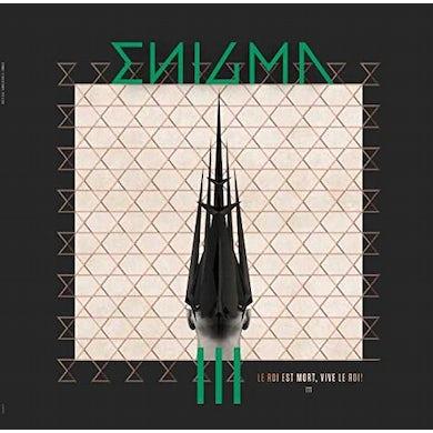 Enigma  LE ROI ET MORT VIVE LE ROI Vinyl Record - Colored Vinyl, Green Vinyl, Canada Release