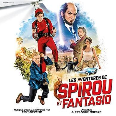Eric Neveux LES AVENTURES DE SPIROU ET FANTASIO / Original Soundtrack CD