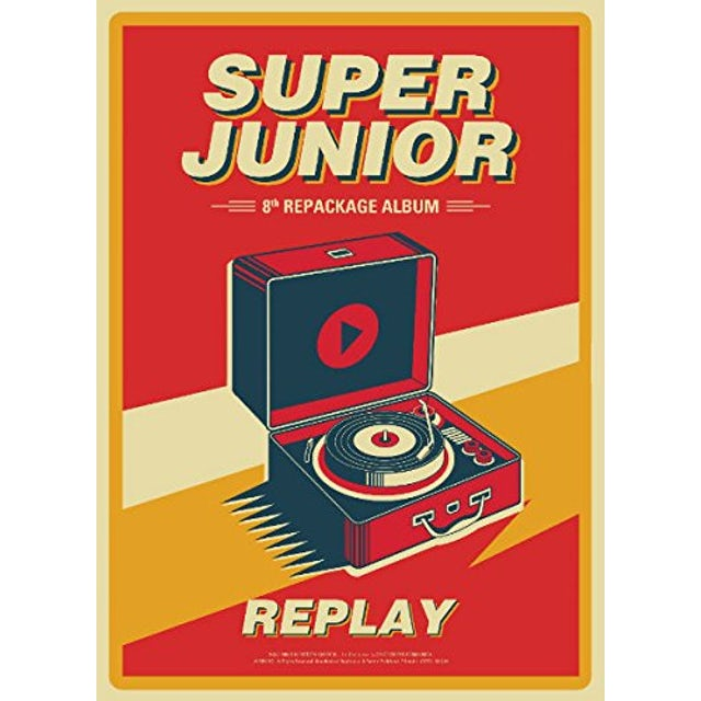 Super Junior REPLAY CD