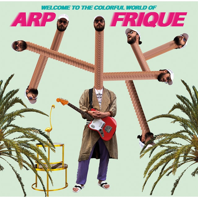 WELCOME TO THE COLORFUL WORLD OF ARP FRIQUE CD