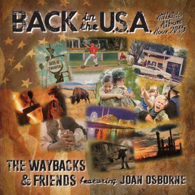Waybacks BACK IN THE USA CD