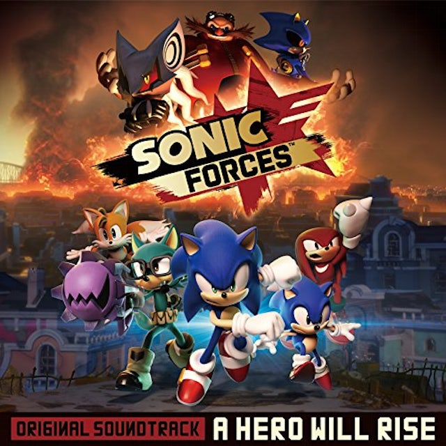 Game Music SONIC FORCES: A HERO WILL RISE / O.S.T. CD