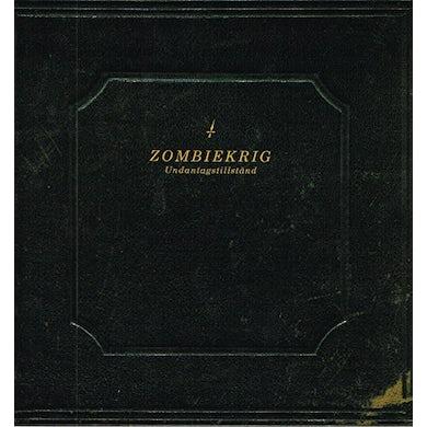 Zombiekrig UNDANTAGSTILLSTAND Vinyl Record