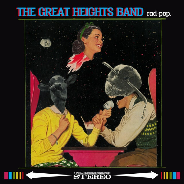 Great Heights Band RAD POP Vinyl Record