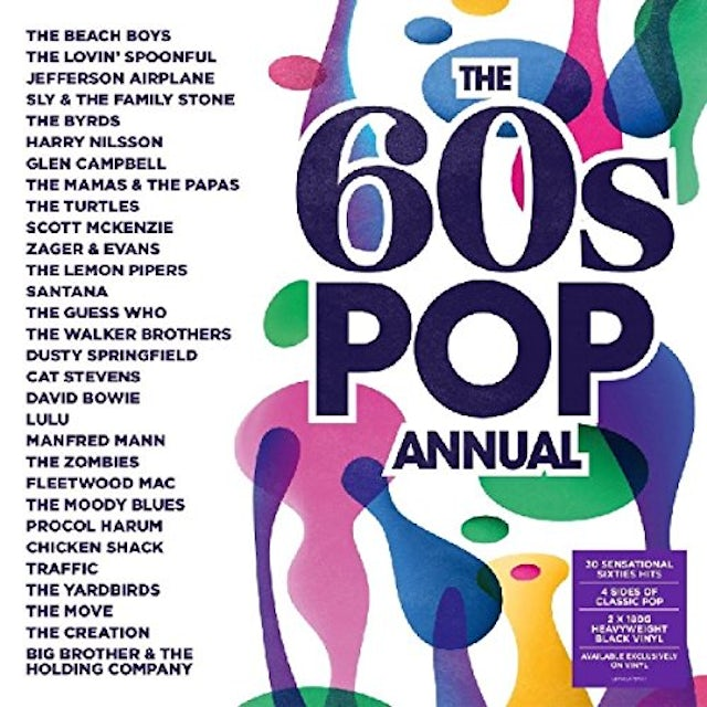 60S Pop Annual / Various Vinyl Record
