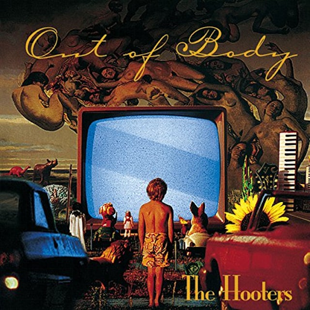 Hooters OUT OF BODY CD