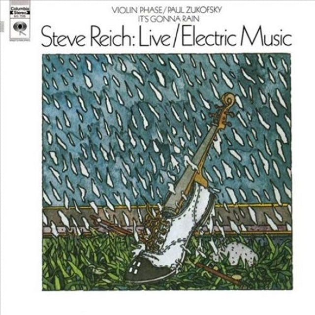 Steve Reich LIVE / ELECTRIC MUSIC Vinyl Record