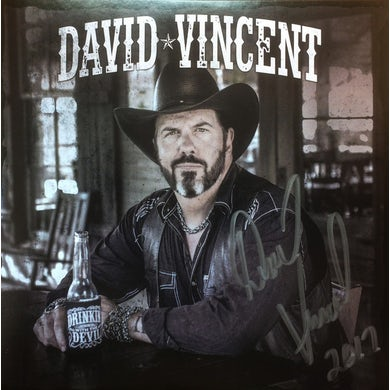 David Vincent DRINKIN' WITH THE DEVIL Vinyl Record