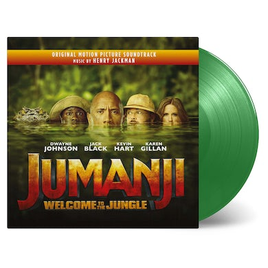 Henry Jackman JUMANJI: WELCOME TO THE JUNGLE / Original Soundtrack Vinyl Record