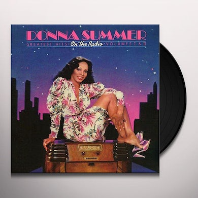 Donna Summer ON THE RADIO: GREATEST HITS VOL I & II - Limited Edition Pink Colored Double Vinyl Record