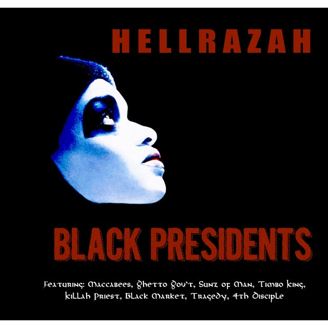 Hell Razah BLACK PRESIDENTS CD