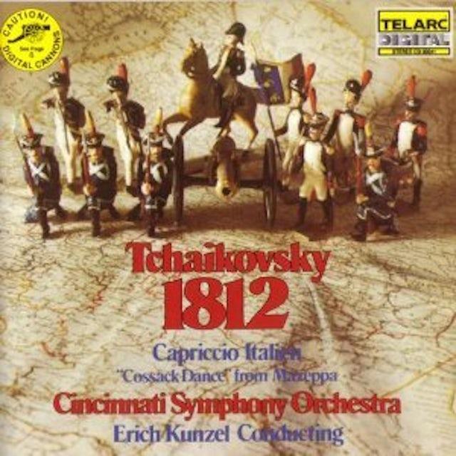Tchaikovsky / Erich Kunzel / Cincinnati Sym Orch TCHAIKOVSKY: 1812 OVERTURE OP 49 / CAPRICCIO Vinyl Record