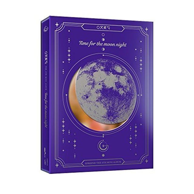 GFRIEND TIME FOR MOON NIGHT (NIGHT VERSION) CD