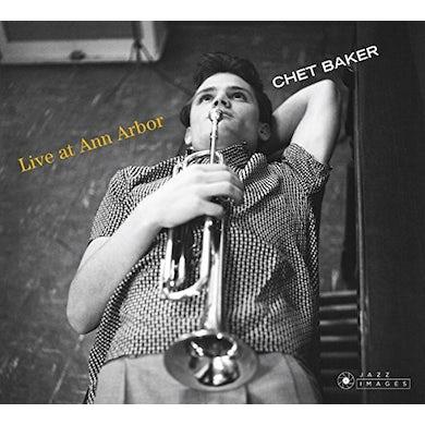 Chet Baker LIVE AT ANN ARBOR CD