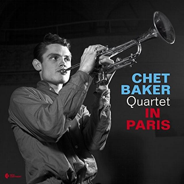 Chet Baker IN PARIS Vinyl Record