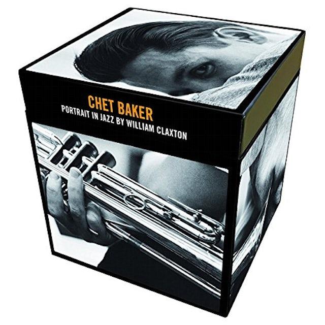 Chet Baker PORTRAIT IN JAZZ BY WILLIAM CLAXTON CD