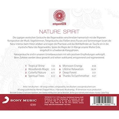 Jens Buchert ENTSPANNTSEIN: NATURE SPIRIT (A JOURNEY) CD