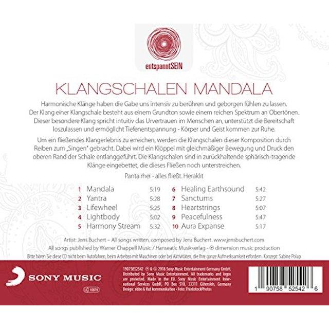 Jens Buchert ENTSPANNTSEIN: KLANGSCHALEN MANDALA CD
