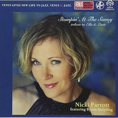 Nicki Parrott STOMPIN AT THE SAVOY Super Audio CD