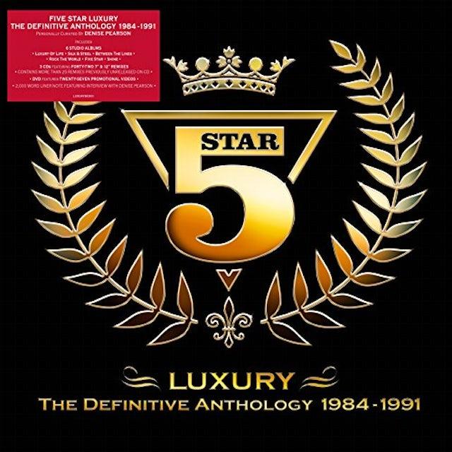 Five Star LUXURY: DEFINITIVE ANTHOLOGY 1984-1991 CD