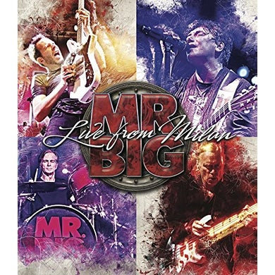 Mr Big LIVE FROM MILLAN / JAPAN 2017 OFFICIAL BOOTLEG Blu-ray
