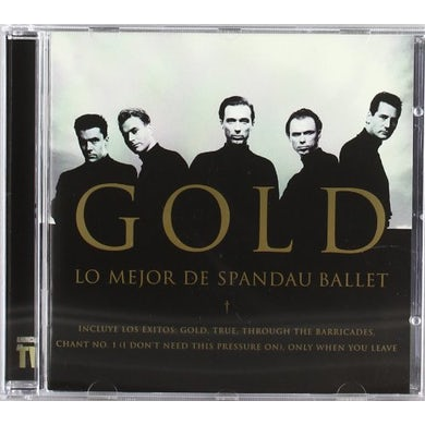 GOLD: THE BEST OF SPANDAU BALLET Vinyl Record