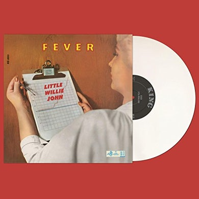 FEVER - Limited Edition White Colored Vinyl Record