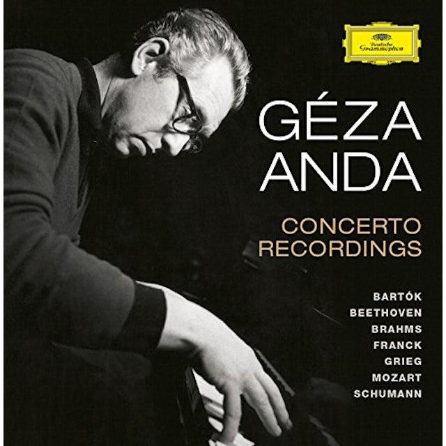 Geza Anda CONCERTO RECORDINGS CD