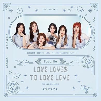favorite LOVES LOVES TO LOVE LOVE CD