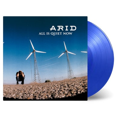 ALL IS QUIET NOW (LIMITED CLEAR BLUE VINYL/180G/BONUS TRACK/LIMITED) Vinyl Record