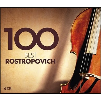 Mstislav Rostropovich 100 BEST ROSTROPOVICH CD