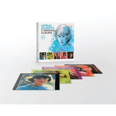 Astrud Gilberto 5 ORIGINAL ALBUMS CD