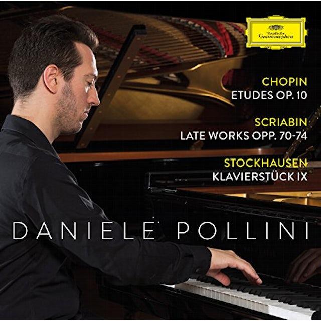 Chopin / Pollini ETUDES OP 10 / SCRIABIN: LATE WORKS OPP 70-74 CD