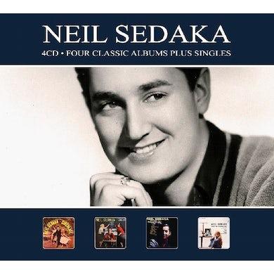 Neil Sedaka 4 CLASSIC ALBUMS PLUS SINGLES CD