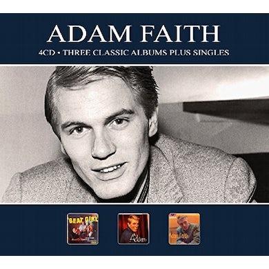 Adam Faith 3 CLASSIC ALBUMS PLUS SINGLES CD