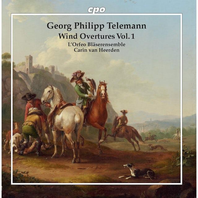 Telemann WIND OVERTURES 1 CD
