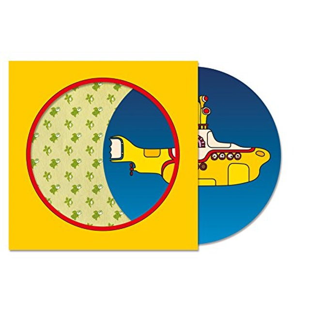 The Beatles YELLOW SUBMARINE Vinyl Record - Limited Edition, Picture Disc