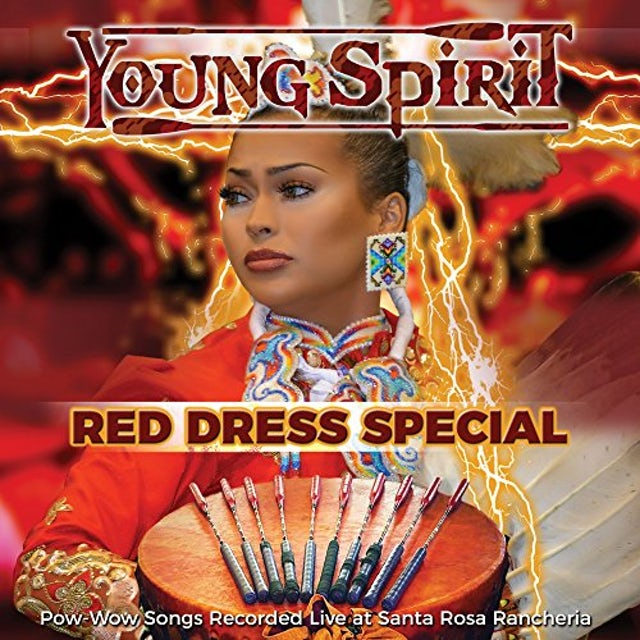 Young Spirit RED DRESS SPECIAL - POW-WOW SONGS CD