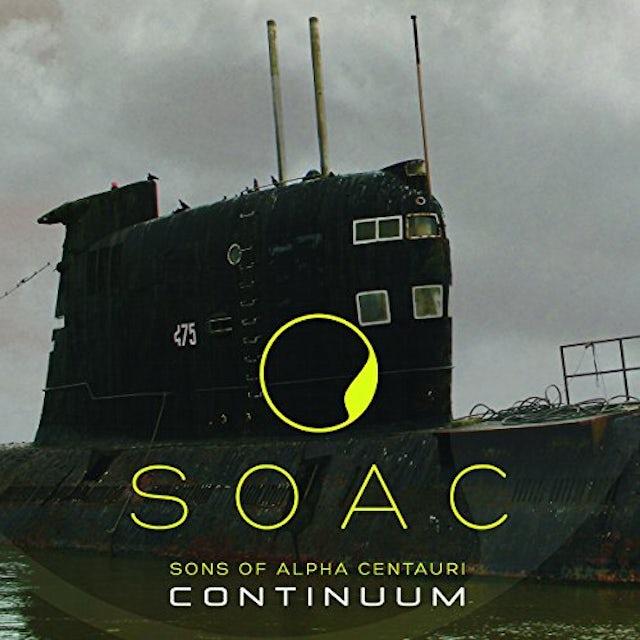 Sons of Alpha Centauri CONTINUUM Vinyl Record