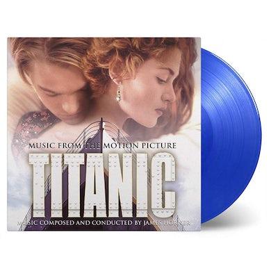 James Horner TITANIC / Original Soundtrack Vinyl Record