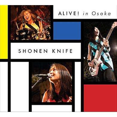 Shonen Knife ALIVE IN OSAKA DVD
