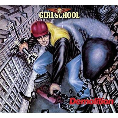 Girlschool DEMOLITION CD